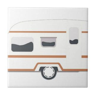 Camper Trailer Camping Van Tile