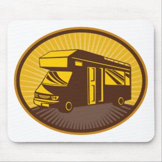 Camper van caravan mobile home mouse pad
