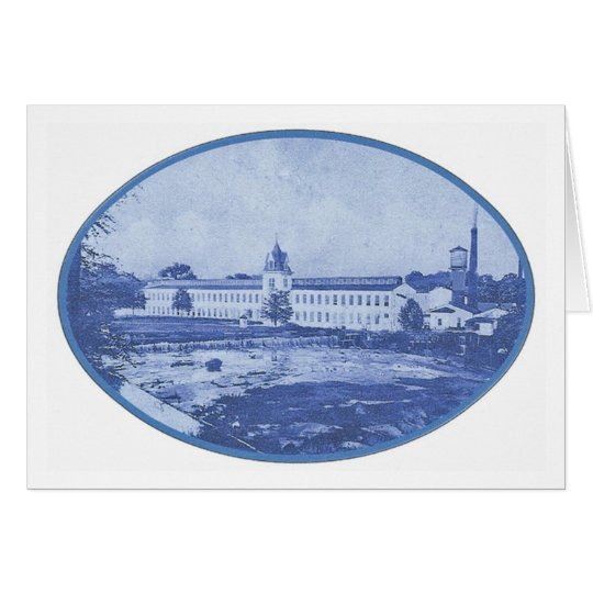 Camperdown Blue Notecard