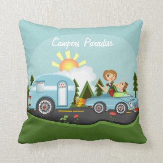 Campers Paridise Cushion