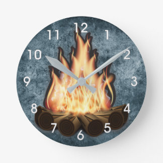 campfire clock