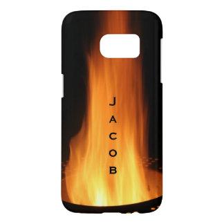 Campfire Flames Burning Black Orange Fire