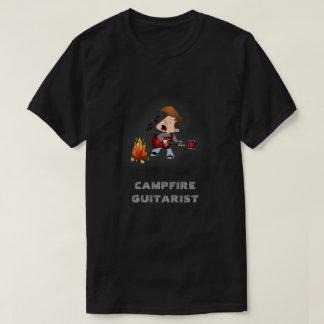 Campfire Guitarist Music T-Shirt