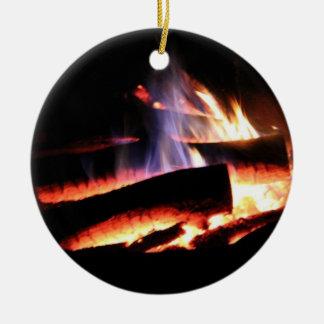 Campfire Ornament