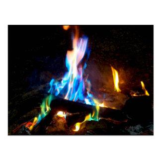 Campfire Postcard