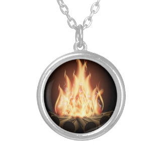 Campfire Silver Plated Necklace