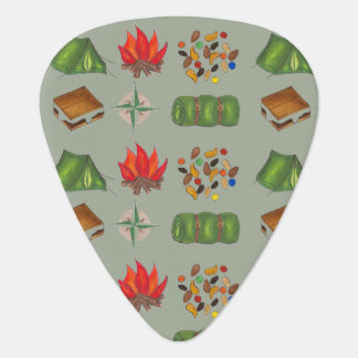 Campfire Singalong Summer Camp Camping Guitar Pick