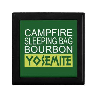 Campfire Sleeping Bag Bourbon Yosemite Gift Box