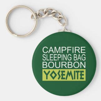 Campfire Sleeping Bag Bourbon Yosemite Key Ring