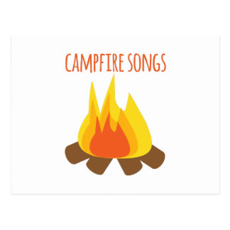 Campfire Songs Postcard