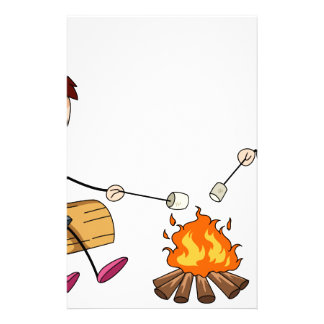 Campfire Stationery Design