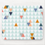 Campfire Triangles Mouse Pads