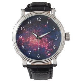 Campfire with Burning Embers Wrist Watches