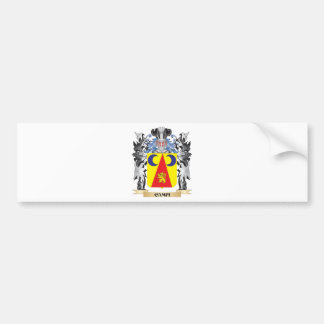 Campi Coat of Arms - Family Crest Bumper Sticker