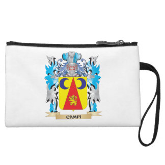 Campi Coat of Arms - Family Crest Wristlet Clutch