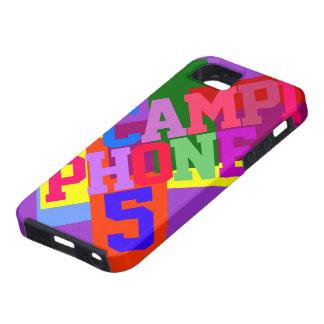 CAMPI PHONE 5 CAMPUS 1 Colors Tough iPhone 5 Case