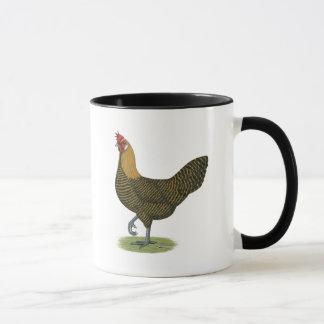 Campine:  Golden Hen Mug