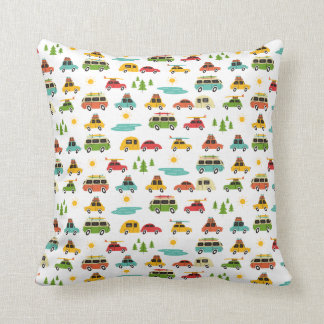 Camping Adventure Caravan Cushion