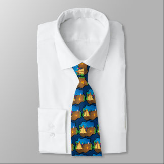 Camping and Archery Tie