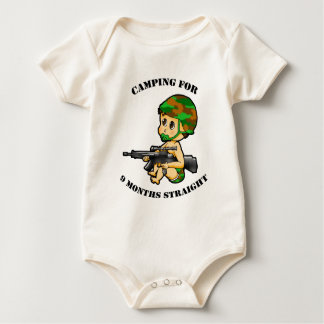 Camping Baby Infant Suit Baby Bodysuit