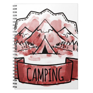 Camping Badge Notebooks