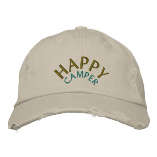Camping / Camper Embroidered Hat