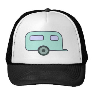Camping car trailer caravan trucker hat