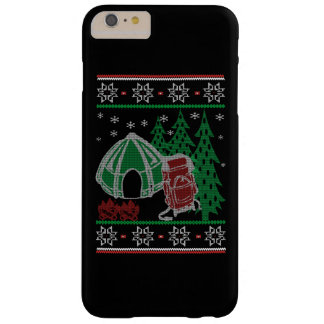 Camping Christmas Barely There iPhone 6 Plus Case