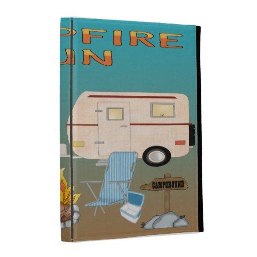 Camping Fun iPad Folio Cases