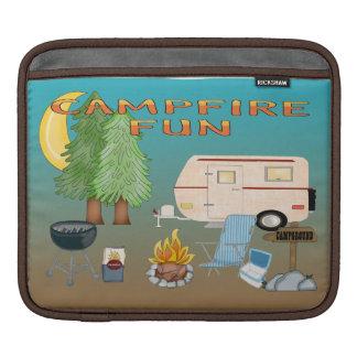 Camping Fun iPad Sleeves