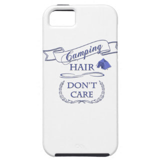 Camping Hair Don't Care iPhone 5 Cover
