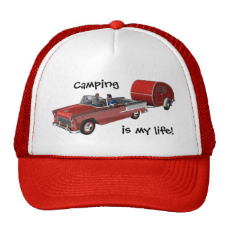 Camping Is My Life Mesh Hat