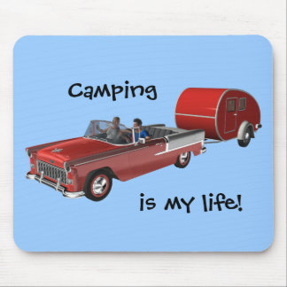 Camping Is My Life Mouse Pad