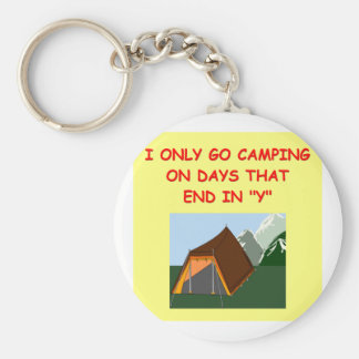 camping keychain