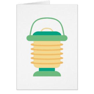 Camping Lantern Greeting Card