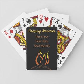 Camping Memories Playing Cards