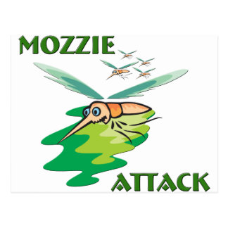 Camping Mozzie Postcards