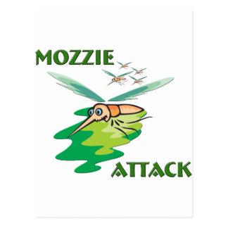 Camping Mozzie Postcard