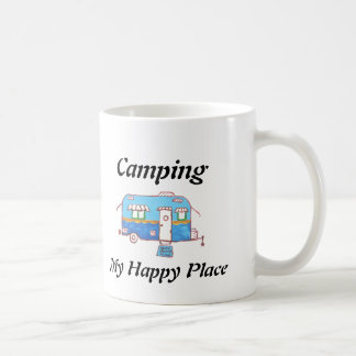 Camping My Happy Place Coffee Mug