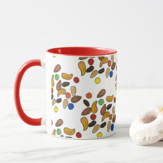 Camping Nuts Candy Trail Mix Outdoor Hiking Camp Mug