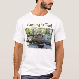 camping photo, Camping is Fun! T-Shirt