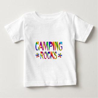 Camping Rocks Baby T-Shirt
