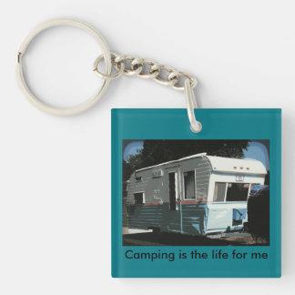 Camping RV Keychain Lil Gem