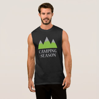 Camping Season Sleeveless Shirt