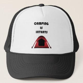 Camping Shirt Trucker Hat