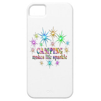 Camping Sparkles Barely There iPhone 5 Case