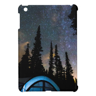 Camping Star Light Star Bright iPad Mini Covers
