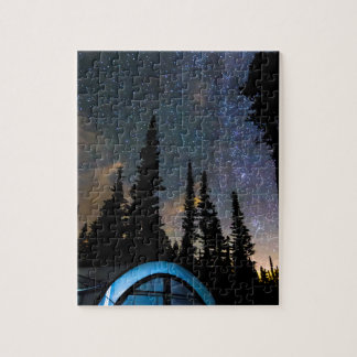 Camping Star Light Star Bright Jigsaw Puzzle