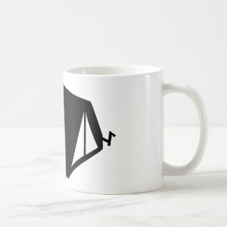 camping tend icon coffee mugs