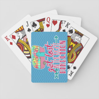 Camping Themed Playing Cards